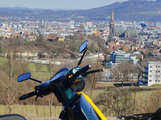 Erste Ausfahrt rund um Linz 2021