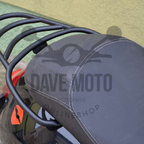 Gepäckträger hinten schwarz matt Vespa GTS