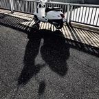 dem Schatten immer ein wenig voraus