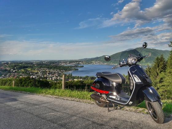 Kurze Runde übern Grasberg bei Gmunden am Traunsee